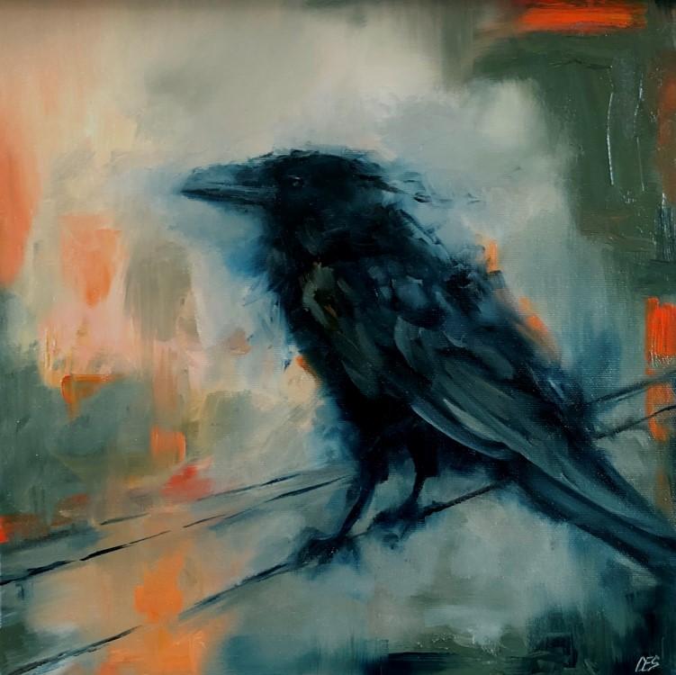 """We Fly at Dawn"" original fine art by Christine E. S. Code"