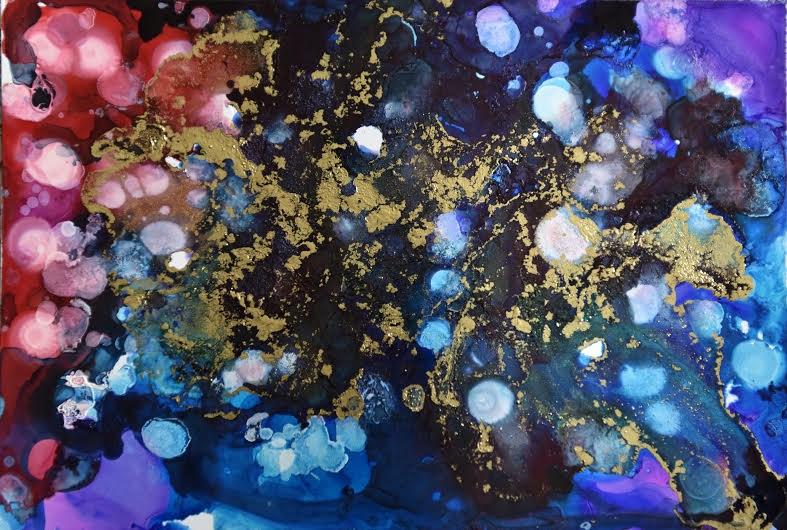 """""""Untitled"""" original fine art by Astrid Buchhammer"""