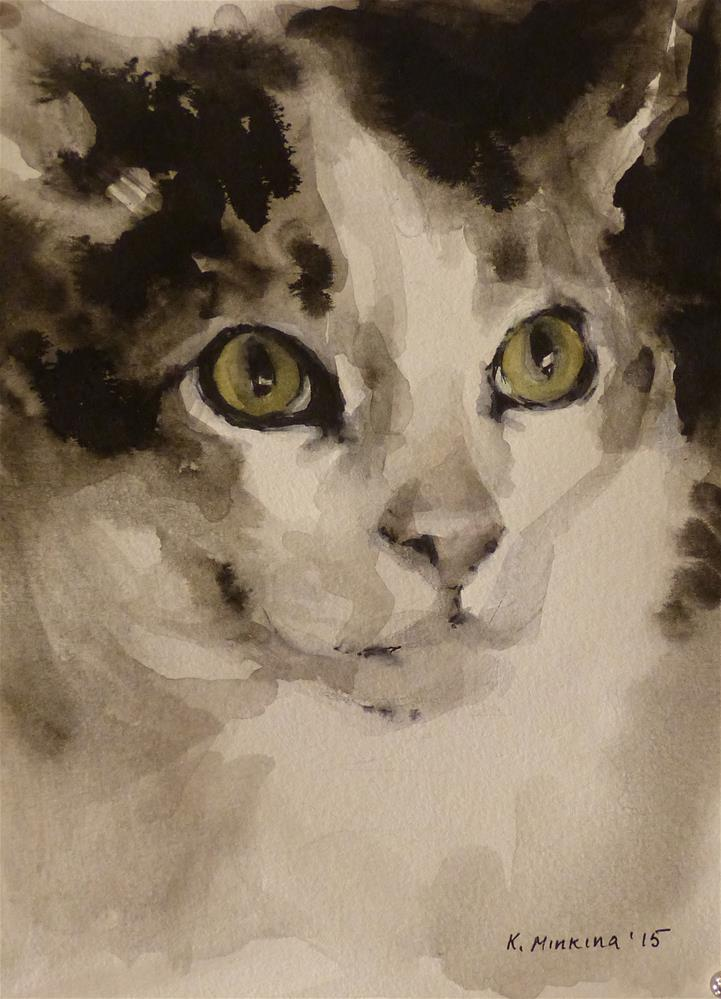 """adopt65"" original fine art by Katya Minkina"