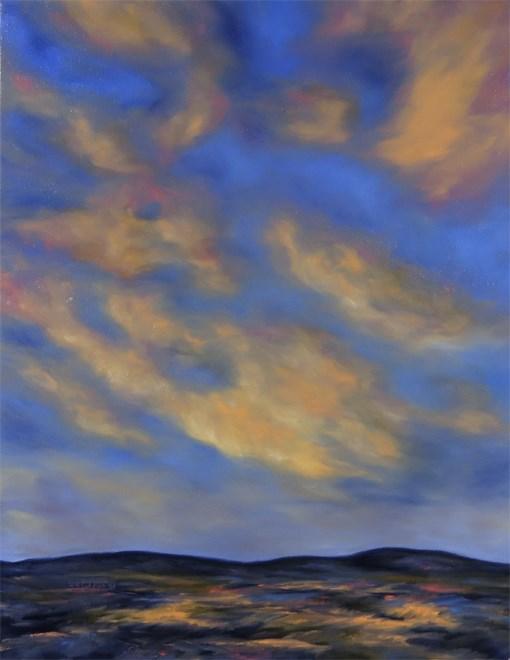"""Soft Landing"" original fine art by Carol Zirkle"
