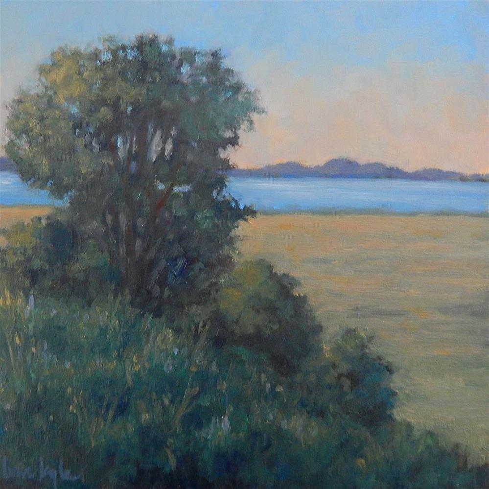 """Hilltop View"" original fine art by Lisa Kyle"