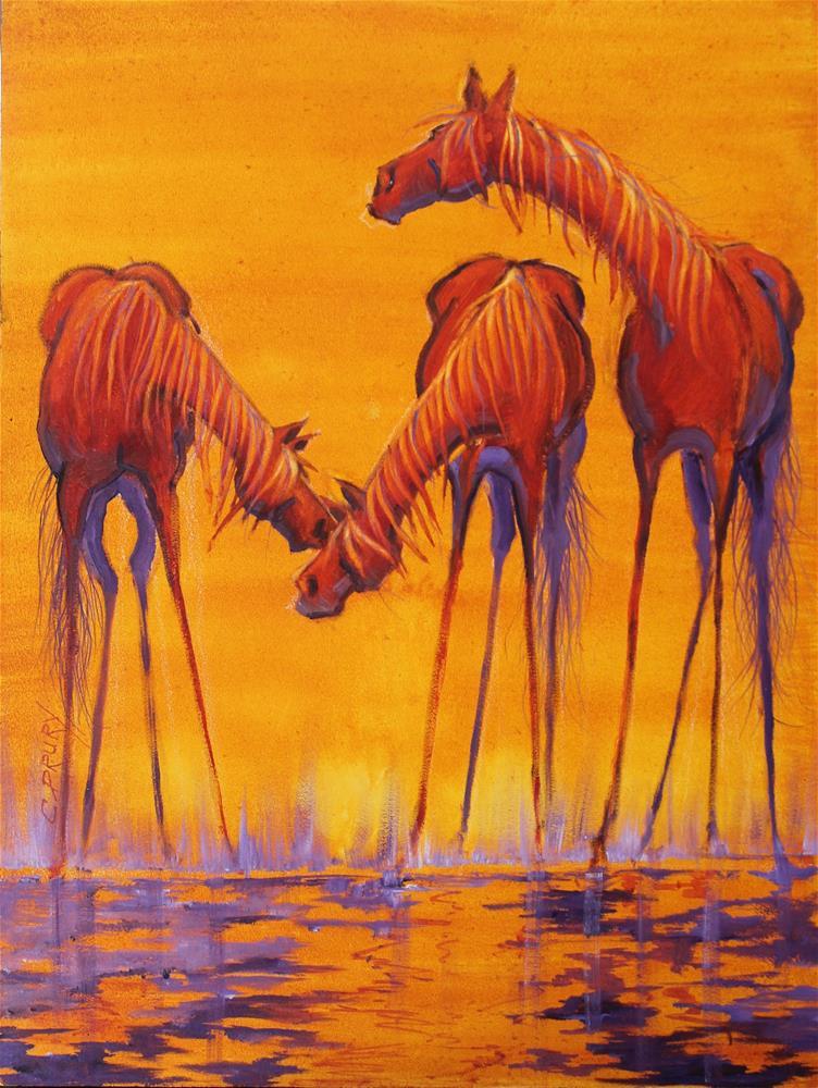 """""""Secrets"""" original fine art by Colleen Drury"""