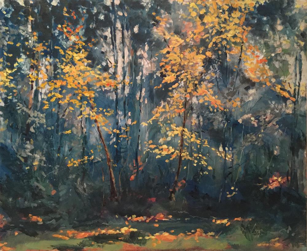 """The Turning"" original fine art by Cornelis vanSpronsen"