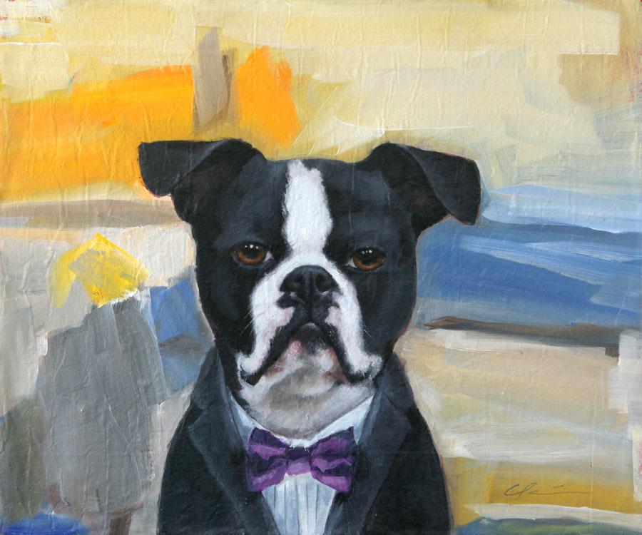 """Faithful Show & New Paintings"" original fine art by Clair Hartmann"