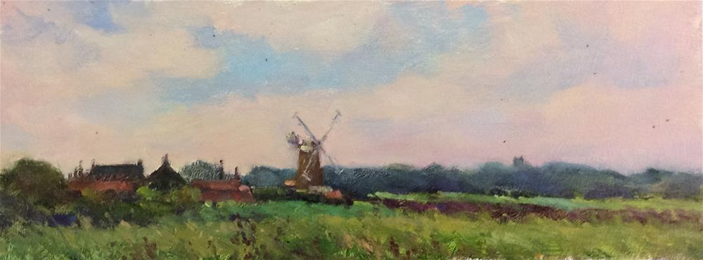 """Cley Mill 2"" original fine art by John Shave"