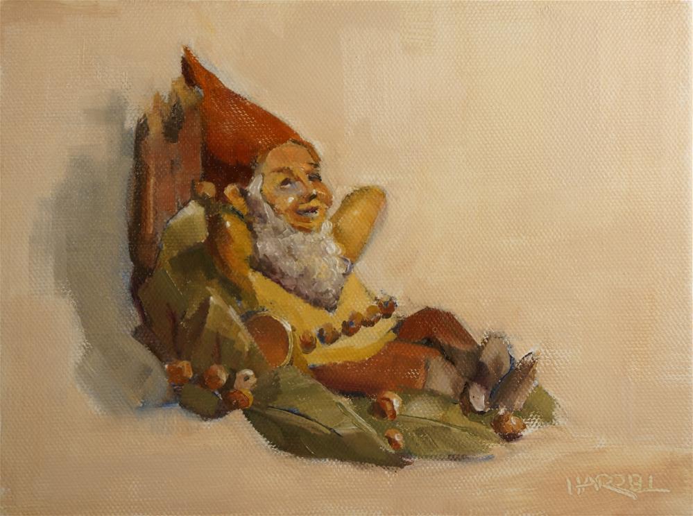 """""""Saturday"""" original fine art by Sue Harrell"""
