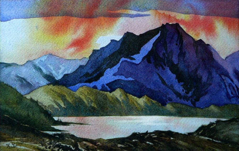 """Highland Dreams"" original fine art by Arena Shawn"