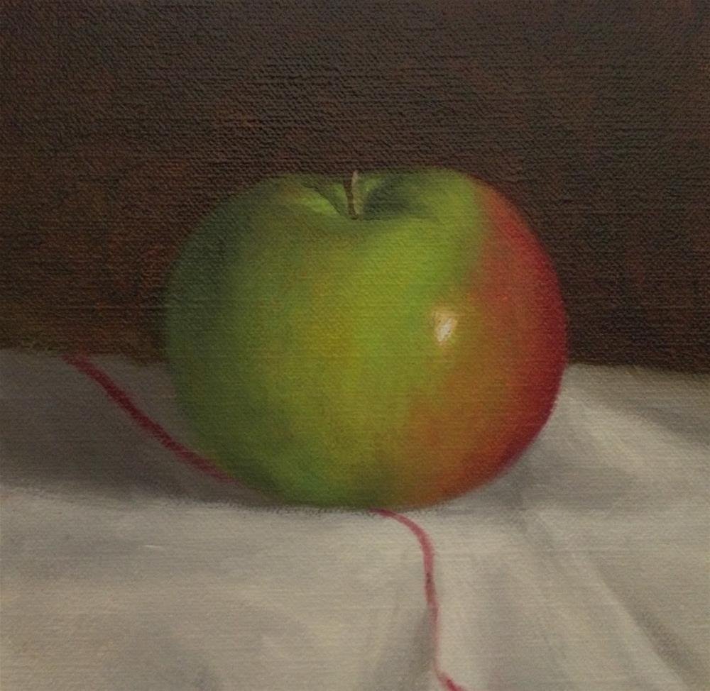 """Mac"" original fine art by Michelle Garro"