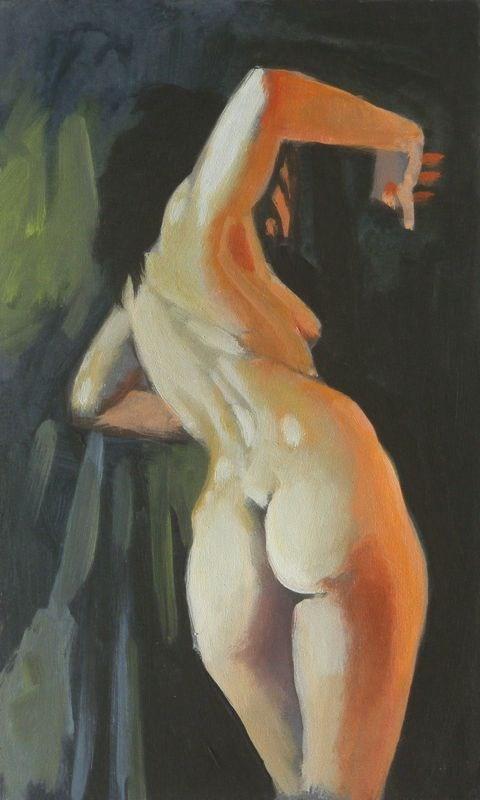 """""""Twist"""" original fine art by Peter Orrock"""