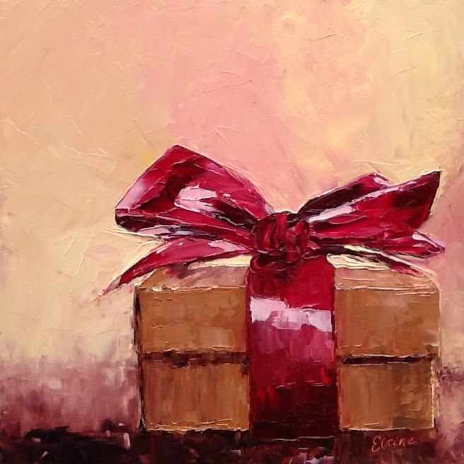 """A Box of  Chocolates"" original fine art by Elaine Ford"