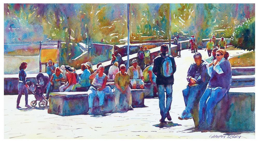 """Winter in Tenerife."" original fine art by Graham Berry"