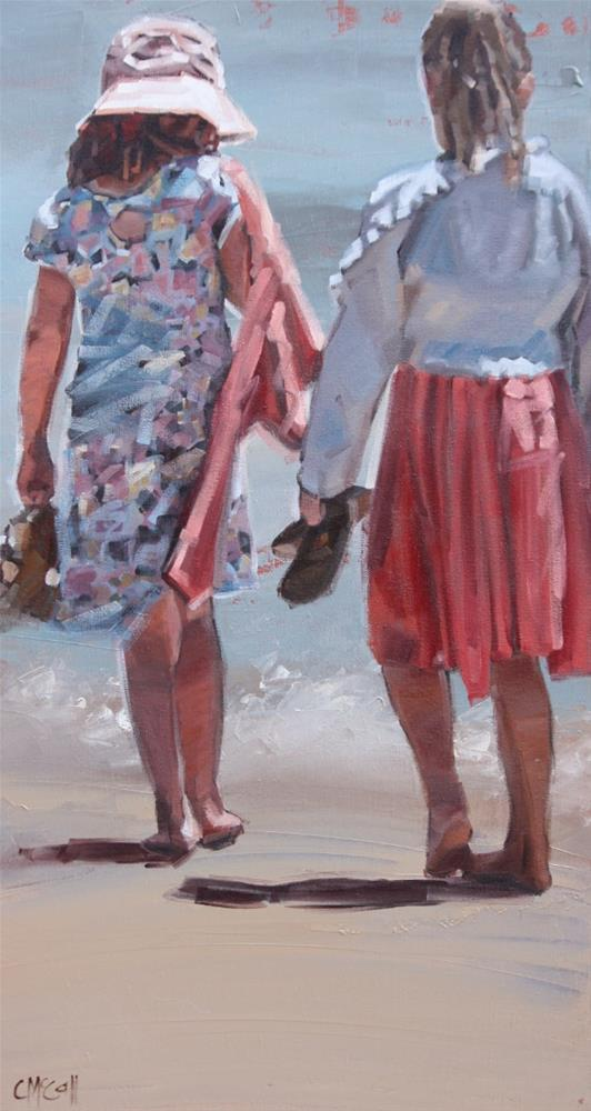"""Friendship"" original fine art by Claire McCall"