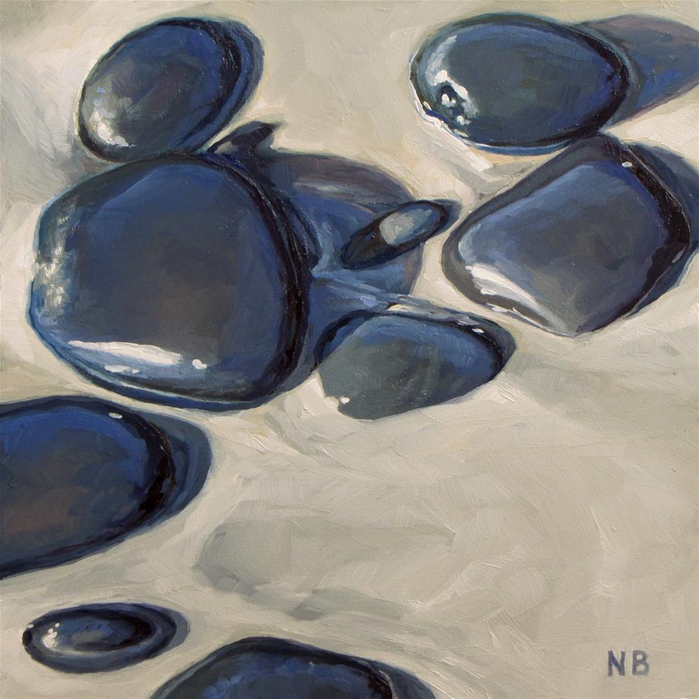 """Sunbathing"" original fine art by Nora Bergman"