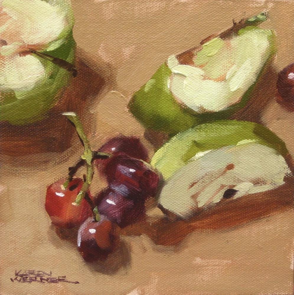 """""""Natural Snack"""" original fine art by Karen Werner"""