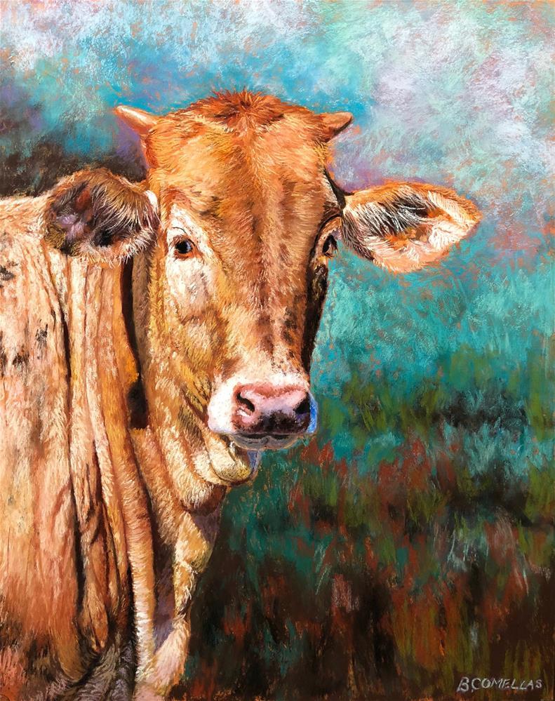 """""""'Lovely Wrinkles'"""" original fine art by Bridgette Comellas"""