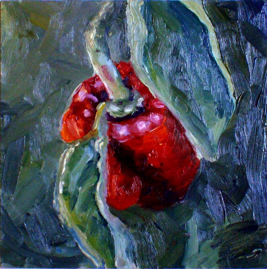 """""""Hidden Pepper"""" original fine art by Kristen Dukat"""