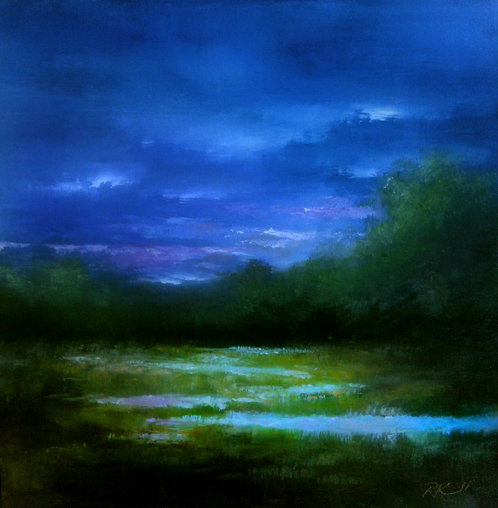 """Clark County Wetlands"" original fine art by Bob Kimball"