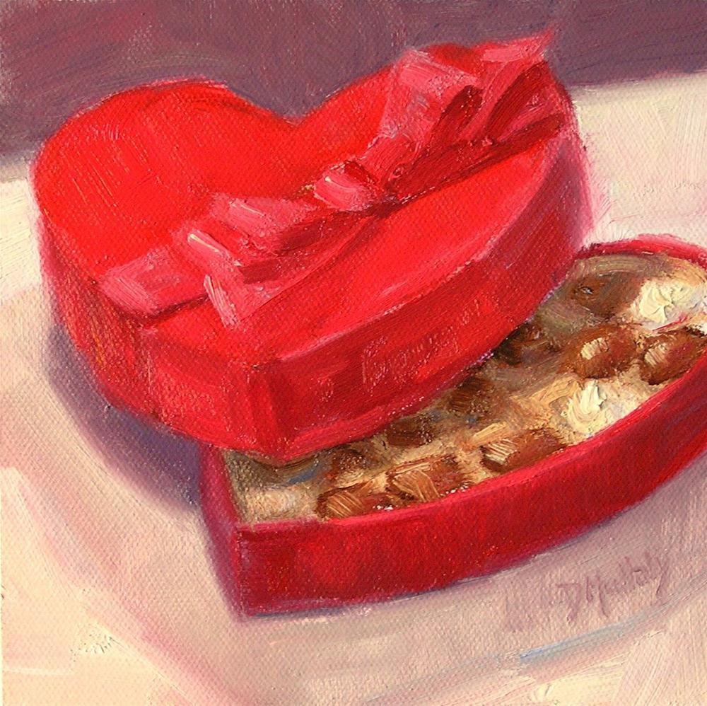 """A Sweet Heart"" original fine art by Diane DuBois Mullaly"