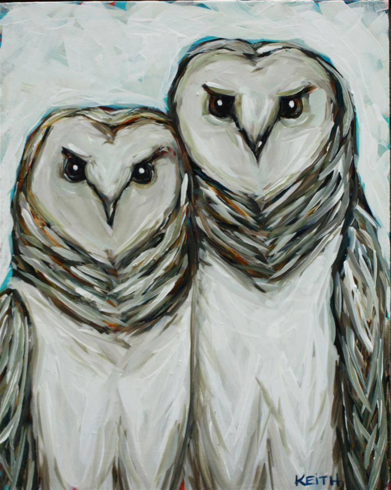 """Love Birds"" original fine art by Kandice Keith"