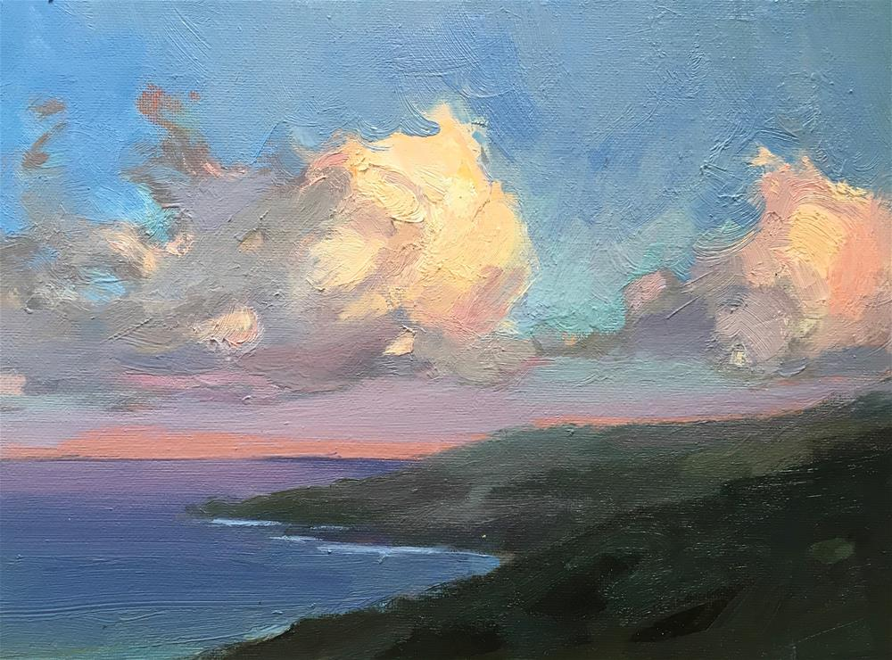 """Sundown in Koali, Hana."" original fine art by Katya Minkina"