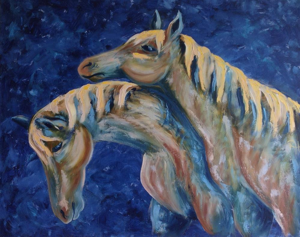 """Dreamers"" original fine art by Rachel  Holland"
