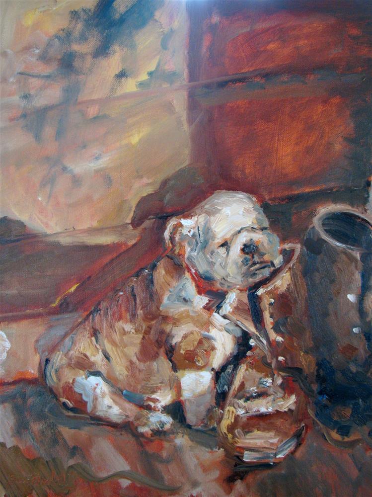 """Missing You"" original fine art by Susan Elizabeth Jones"