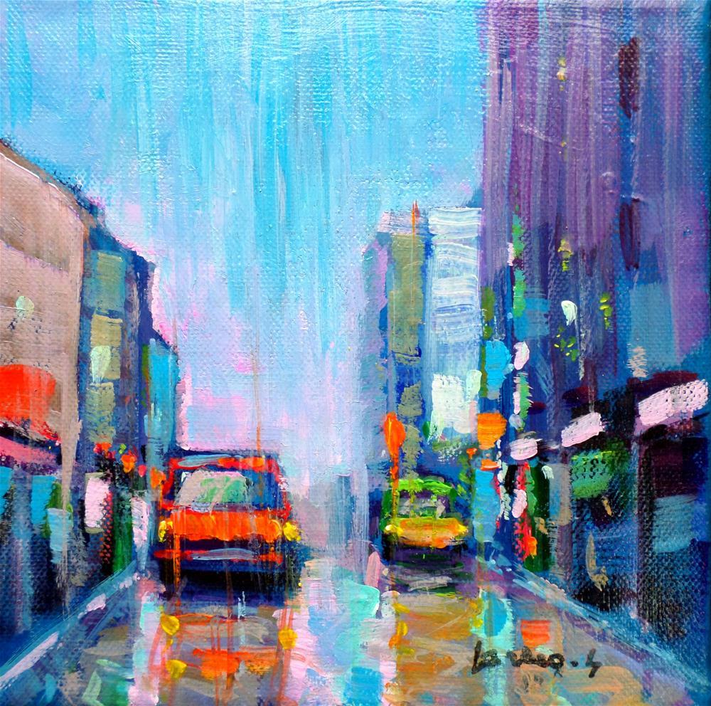 """After the rain"" original fine art by salvatore greco"