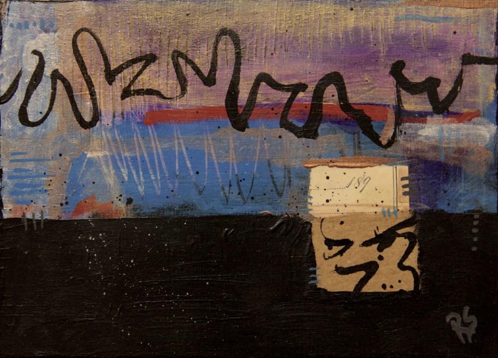 """""""Hearts Connected"""" original fine art by Roberta Schmidt ArtcyLucy"""
