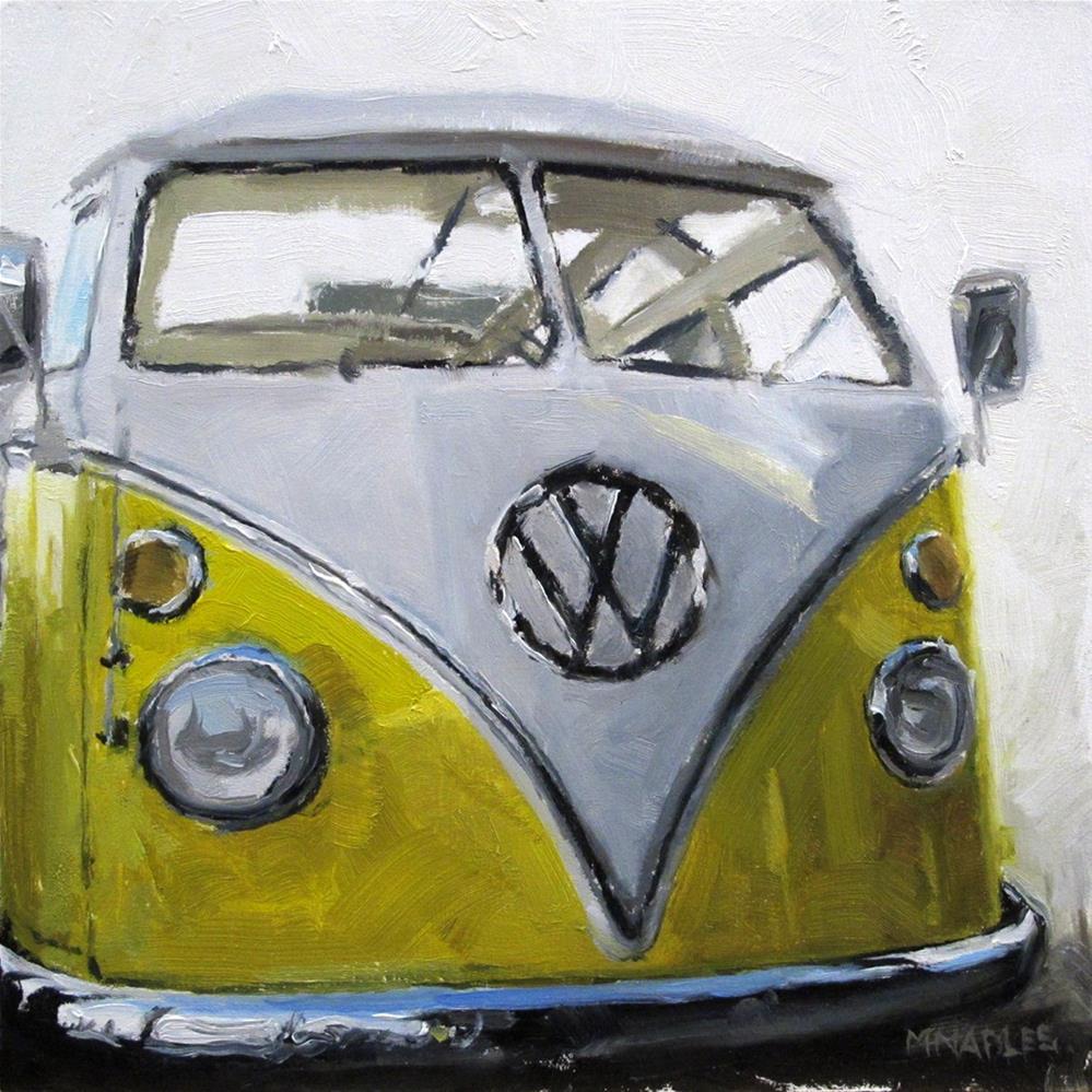 """""""VW Bus"""" original fine art by Michael Naples"""