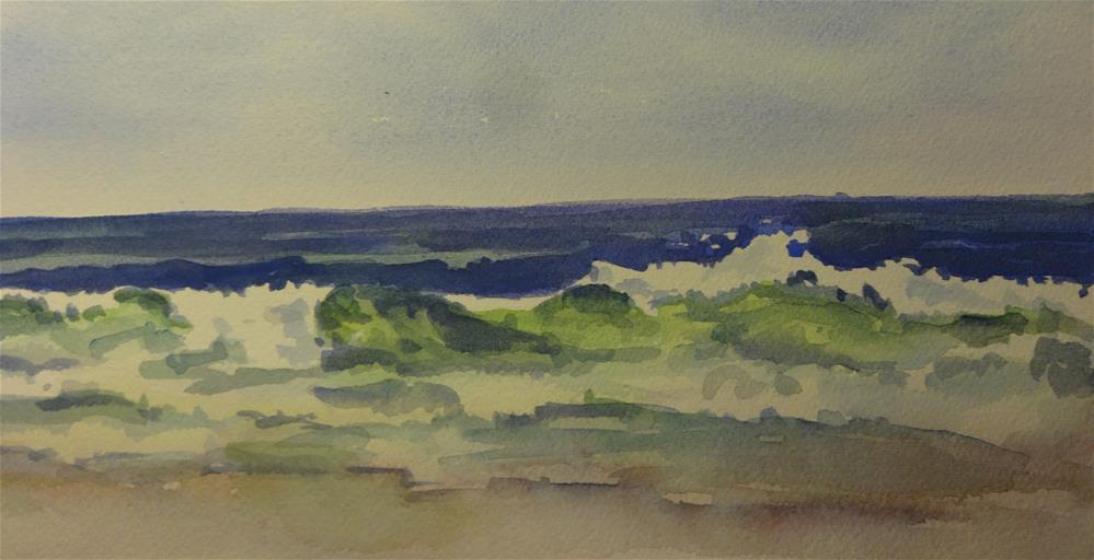 """Catch a Wave"" original fine art by angela scully"