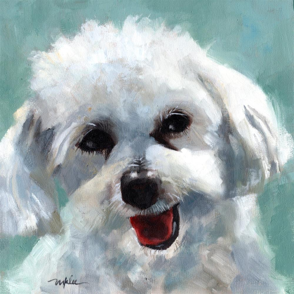 """Kirby"" original fine art by Marlene Lee"