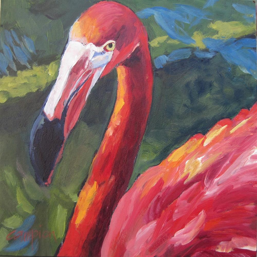 """Pretty In Pink"" original fine art by Diane Campion"
