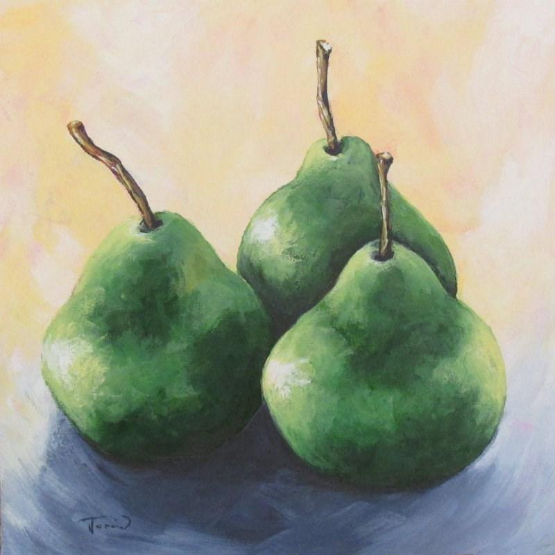 """Triplets II"" original fine art by Torrie Smiley"