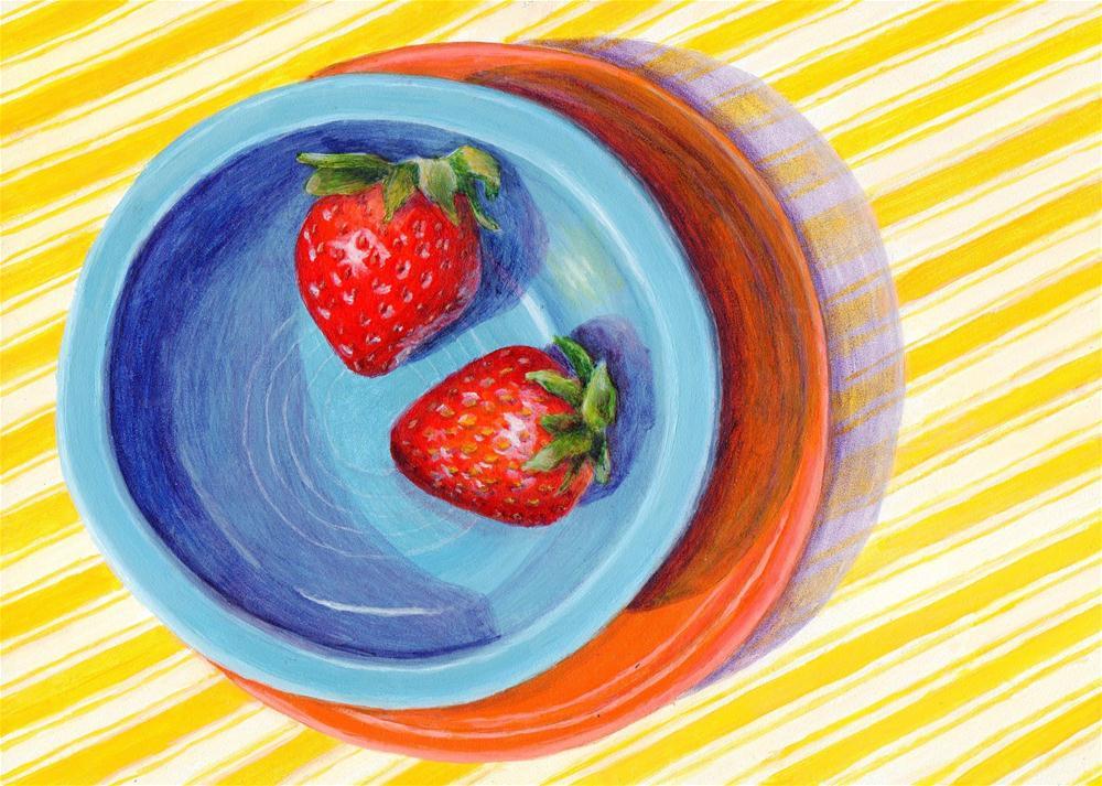 """Taste of Spring"" original fine art by Debbie Shirley"