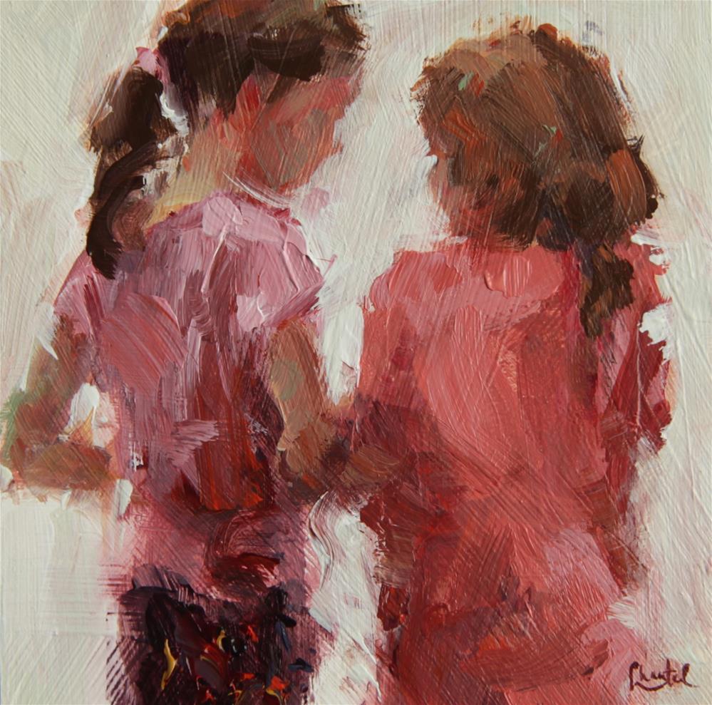 """Confidences"" original fine art by Chantel Barber"