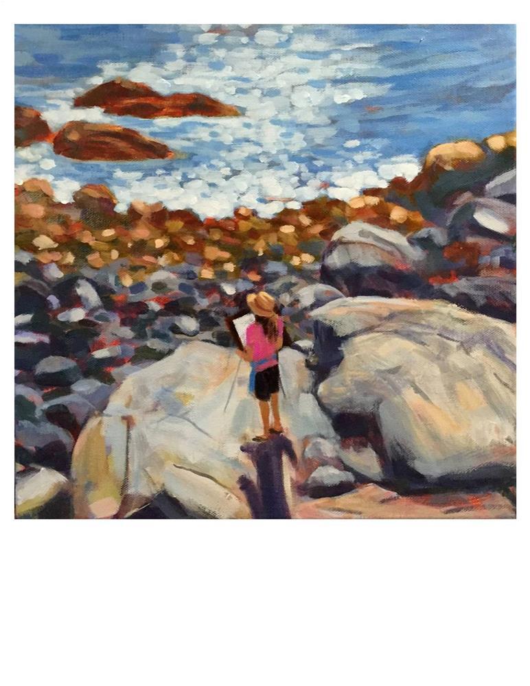 """""""Plein Air Days"""" original fine art by Suzanne Woodward"""
