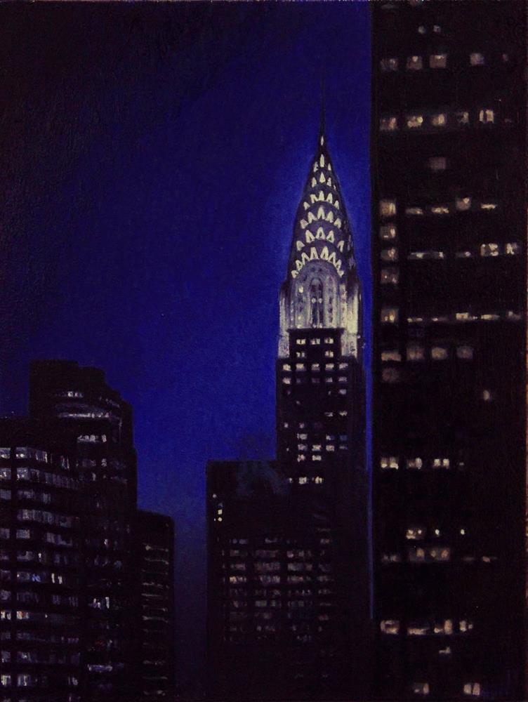 """Twilight Time"" original fine art by Ski Holm"