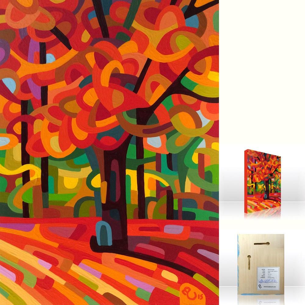 """Landscape Study #79"" original fine art by Mandy Budan"