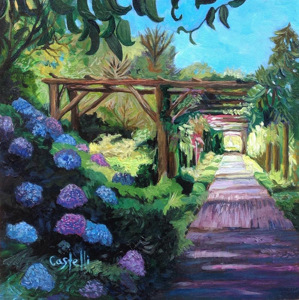 """""""The Primrose Path"""" original fine art by Anna Castelli"""