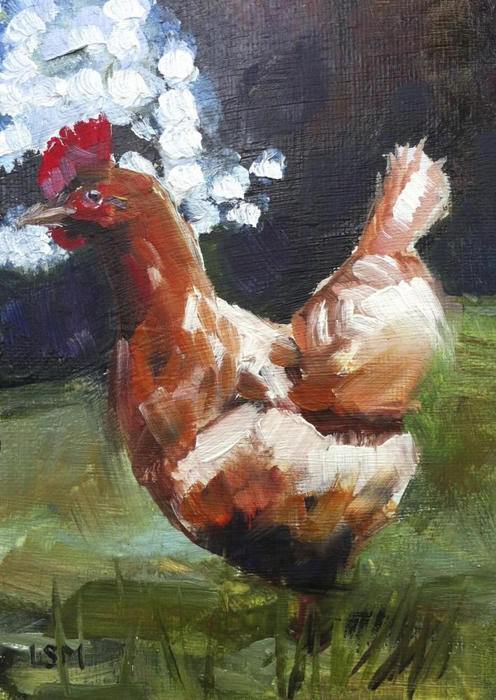 """In the Spotlight"" original fine art by Linda Marino"