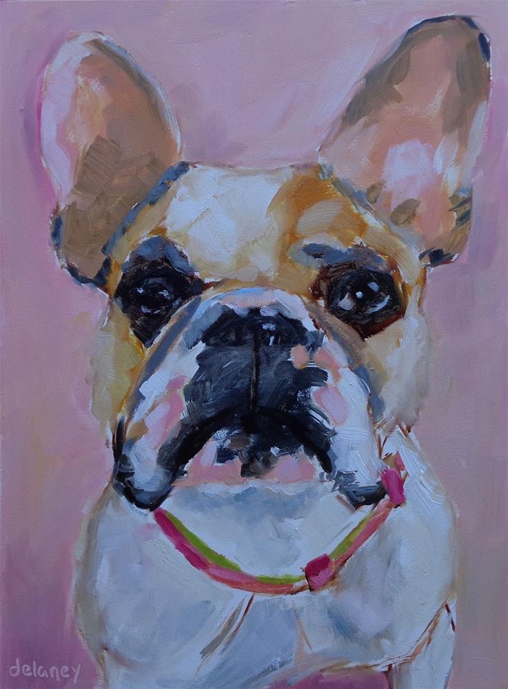 """LITTLE MISS BIG"" original fine art by Jean Delaney"