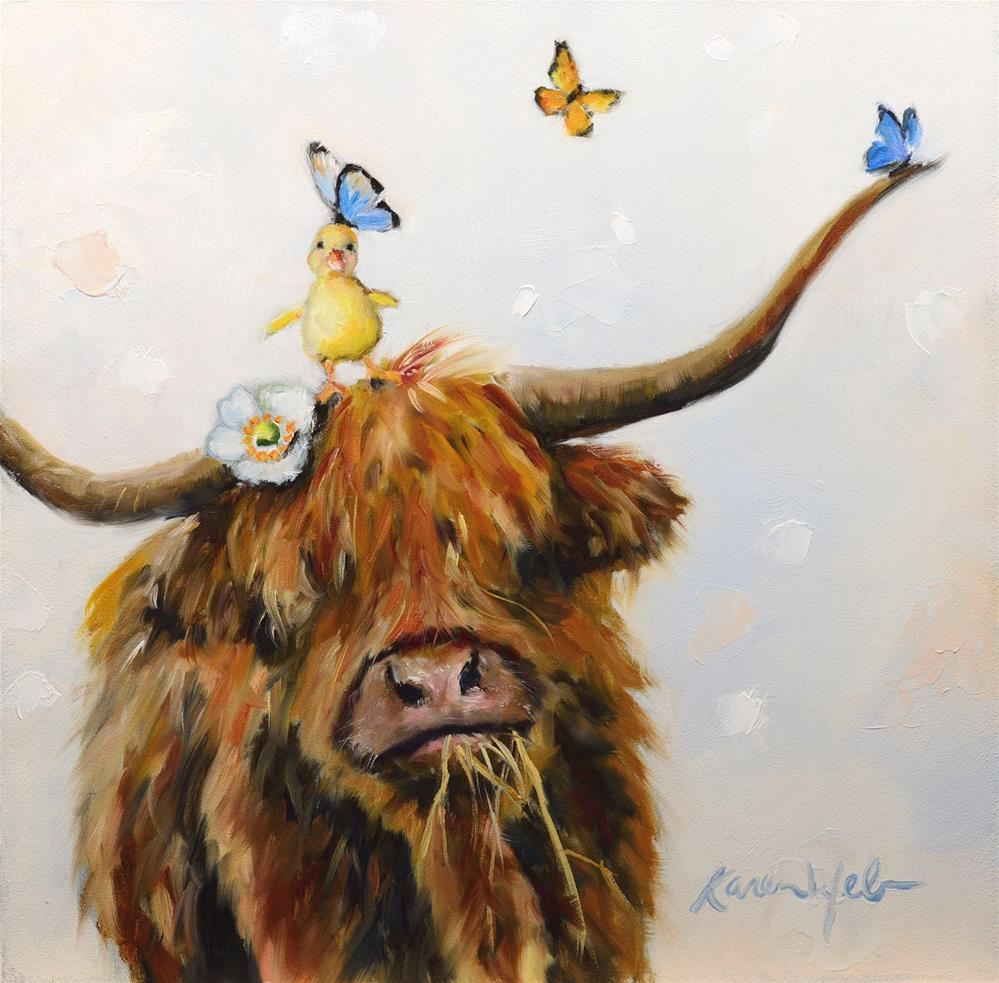 """Mony a Mickle Makes a Muckle"" original fine art by Karen Weber"