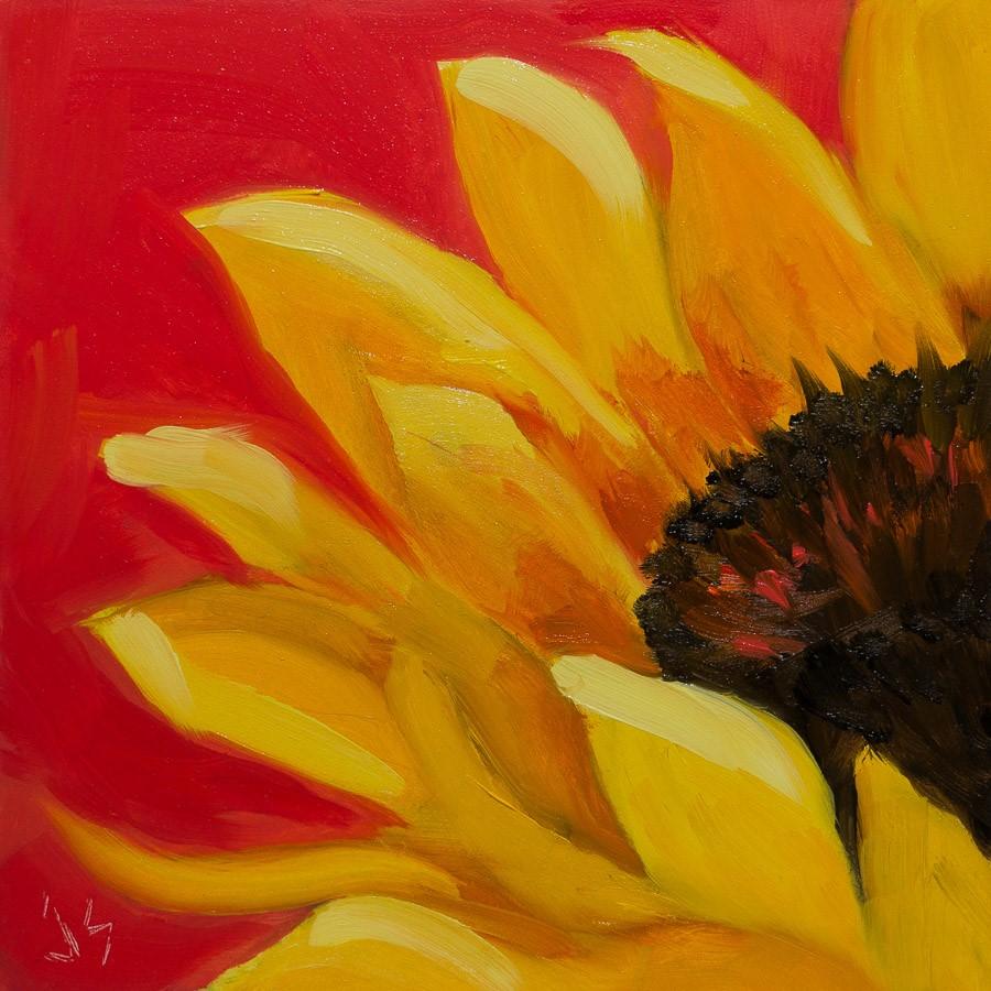 """""""Summer Heat"""" original fine art by Johnna Schelling"""