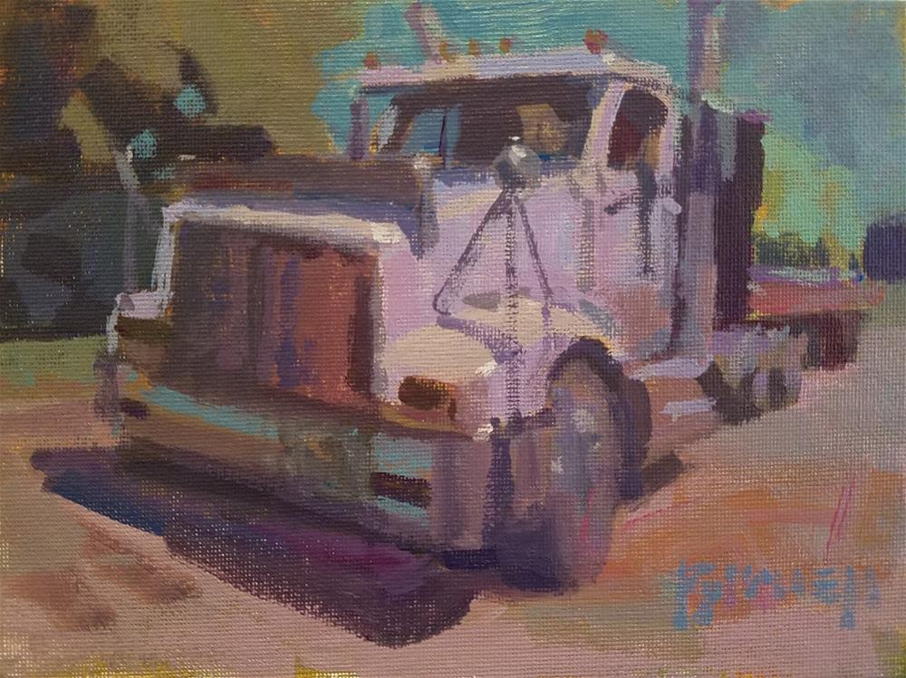 """""""New Ride"""" original fine art by Roy Boswell"""