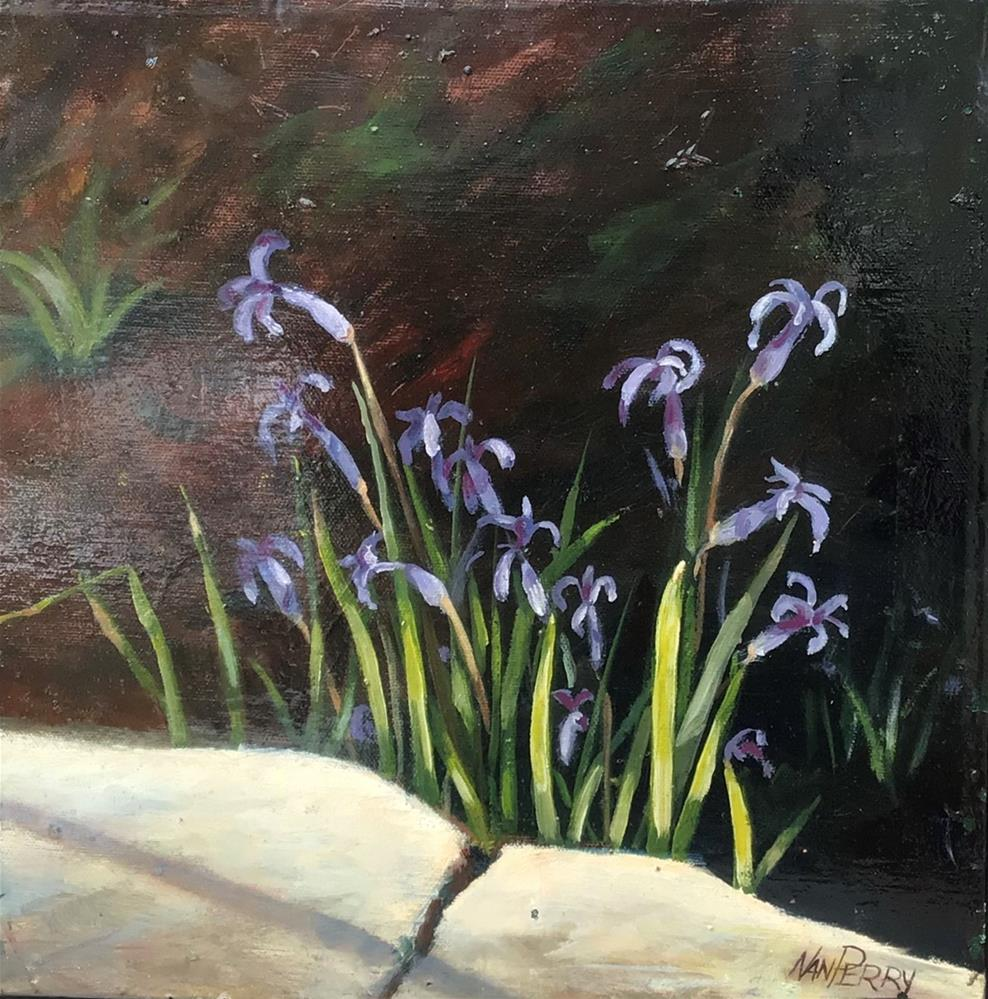 """""""Early Blooms"""" original fine art by Nan Perry"""