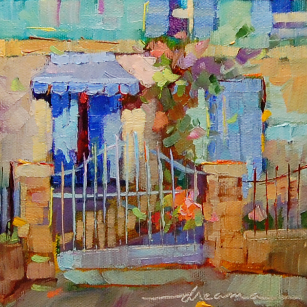 """""""Candy Colors of France"""" original fine art by Dreama Tolle Perry"""