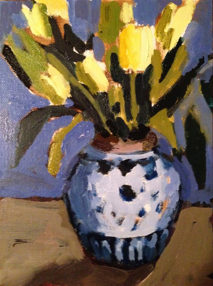 """""""They're NOT All Yellow"""" original fine art by Pamela Hoffmeister"""