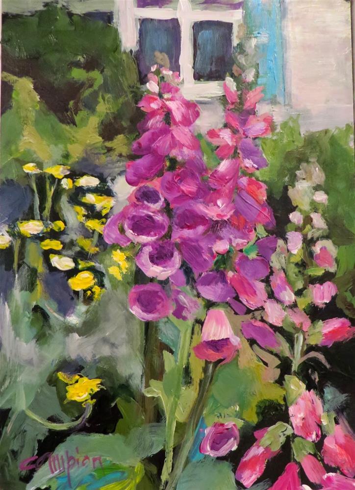 """565 Anticipation"" original fine art by Diane Campion"