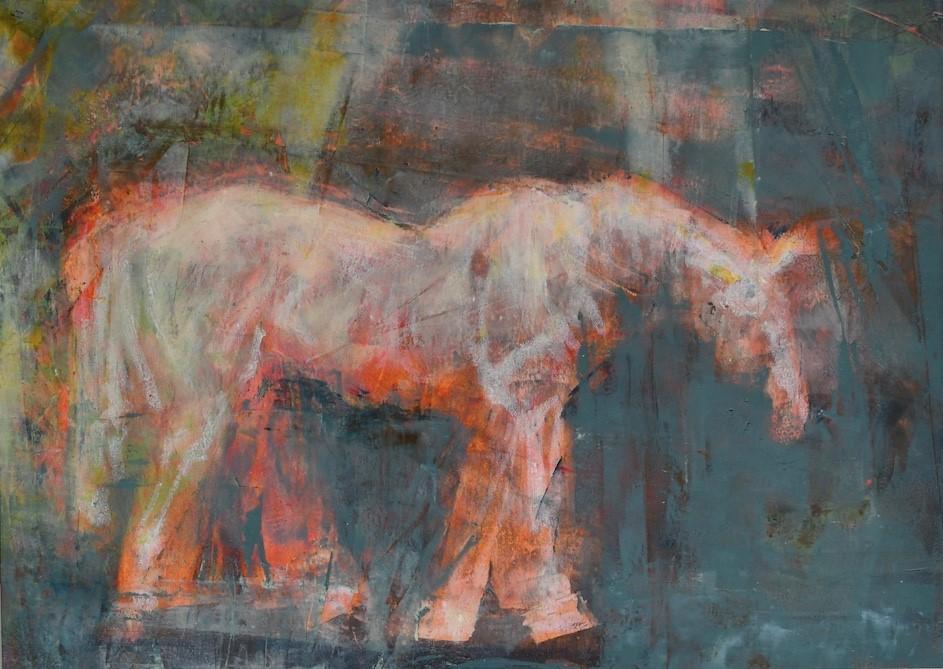 """Glow"" original fine art by Jennifer Pratt"