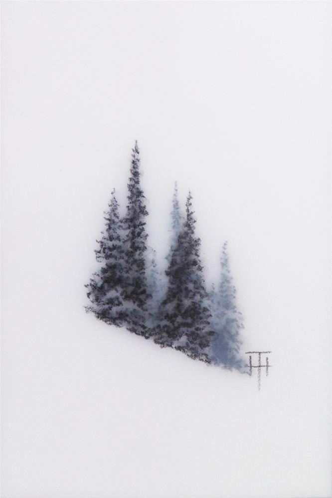 """Mountain Gems V"" original fine art by Terri Heinrichs"